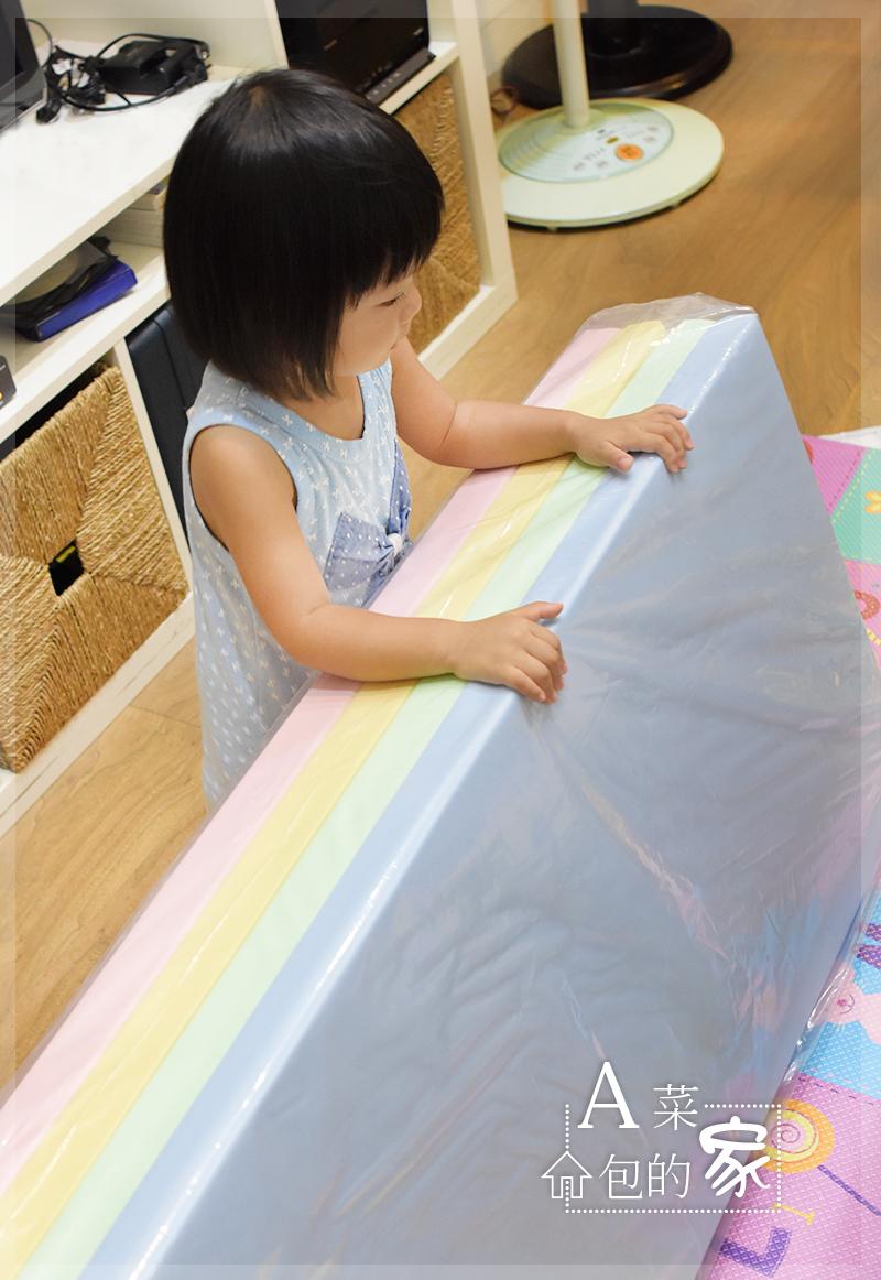 嬰兒遊戲墊心得-開箱